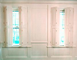 Interior Paneled Shutters