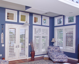 Movable Louver Plantation Shutters