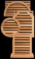 Western Red Cedar Ventilators