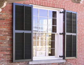 Movable Louver Shutters