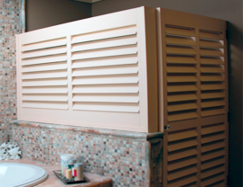 Interior Fixed Louver Shutters