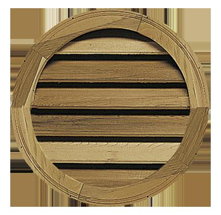 Round Octagonal Back