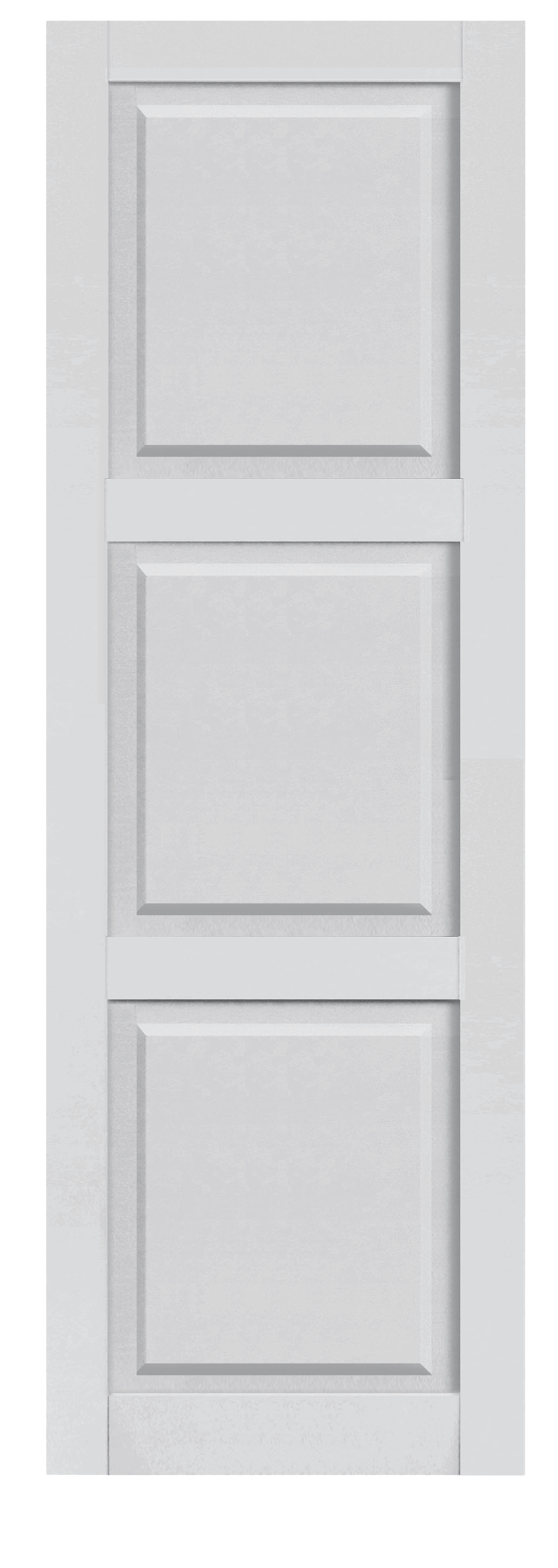 Composite Paneled 3 Equal Sections