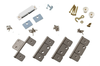 Non-Mortise Butt Hinge Sets