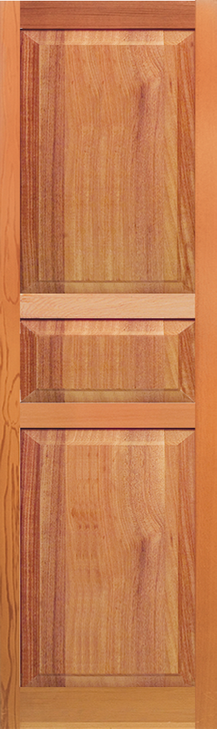 Standard Duty Paneled 3 Section Small Middle