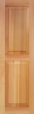 DesignLine Paneled 2 Equal Sections
