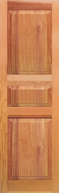 DesignLine Paneled 3 Section Small Middle