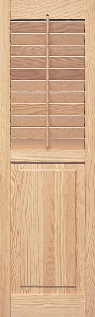 Interior Movable Louver Combination 2 1/2