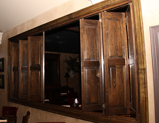 Interior Plantation Paneled
