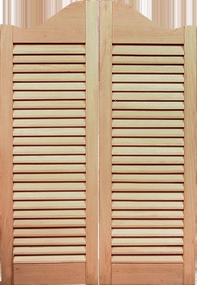 Interior DesignLine Fixed Louver Cafe Doors