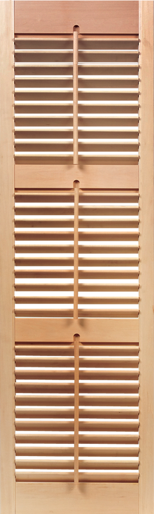 Interior Movable Louver 3 Sections